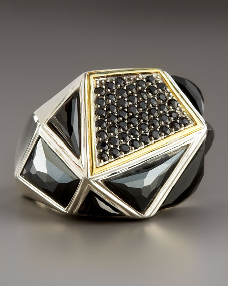 Big Black Onyx Ring