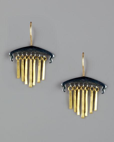 Short Fringe Earrings