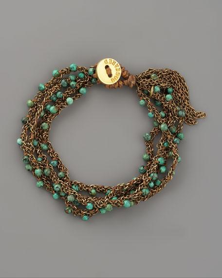 Four-Strand Turquoise Bracelet