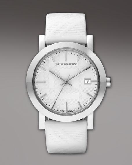 Patent-Strap Round Watch