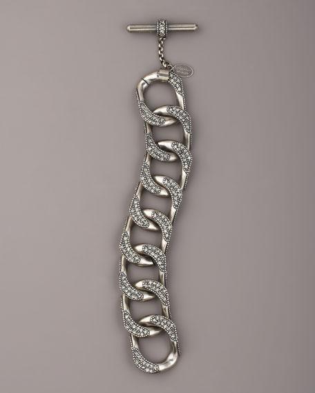 Rhinestone-Link Bracelet