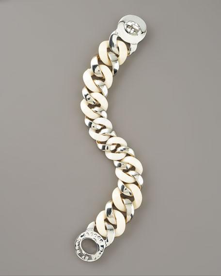 Katie Acrylic Bracelet, Black