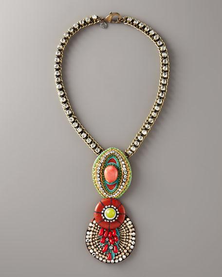 Chameleon Pendant Necklace