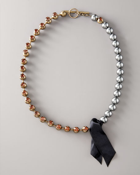 Pearl & Jewel Necklace