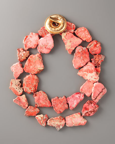 Two-Strand Jasper Necklace