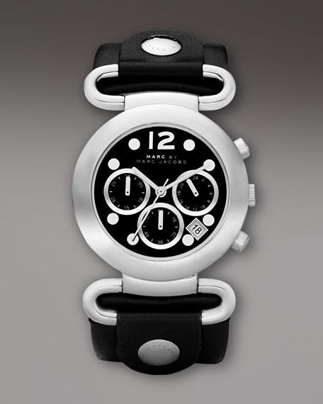 Molly Chronograph Watch, Black