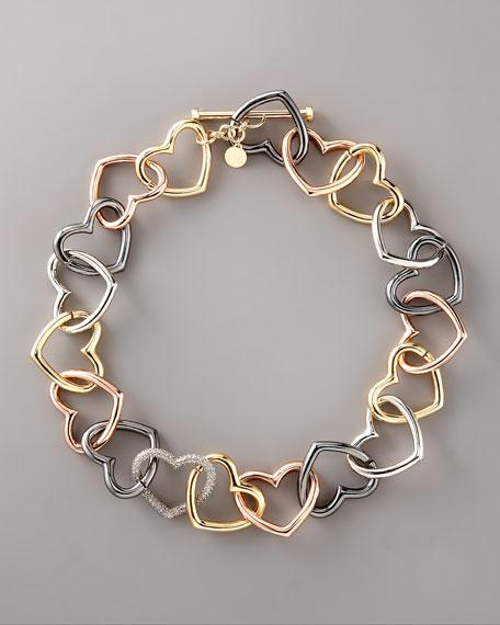 Jumbled Heart Necklace