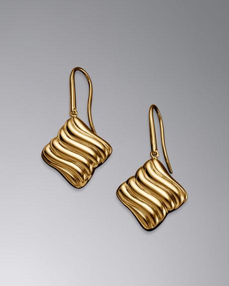 Quatrefoil Earrings, 18mm
