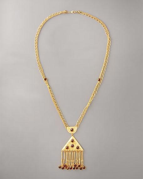 Elizabeth Fringe Necklace