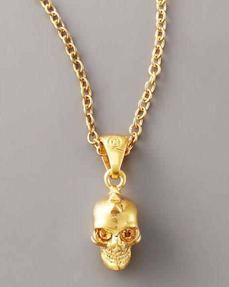 Punk Skull Necklace, Small