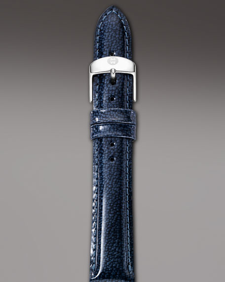 16mm Patent Strap, Navy