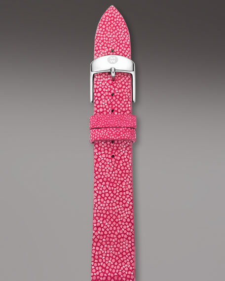 18mm Stingray Strap, Pink