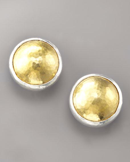 Amulet 24K Gold & Silver Earrings