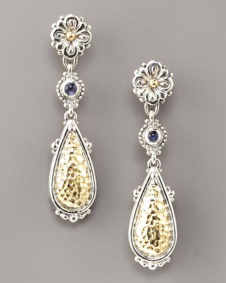 Silver & Gold Dangle Earrings