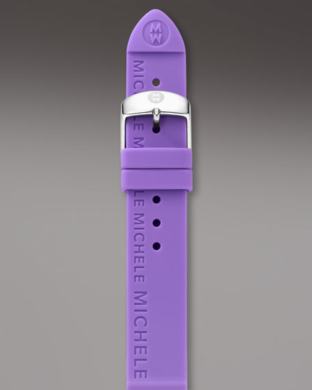 20mm Silicon Strap, Lavender