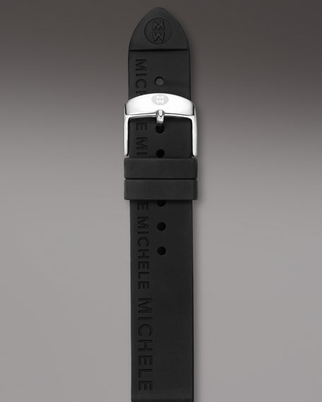 20mm Silicon Strap, Onyx