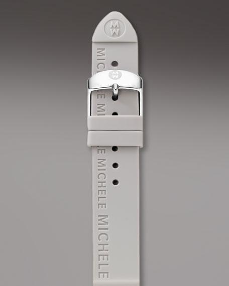 20mm Silicon Strap, Gray