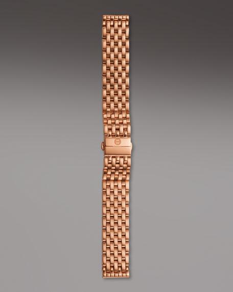 18mm Caber Bracelet Strap, Rose