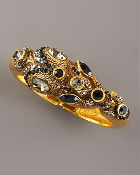 Multi-Stone Snake Bracelet