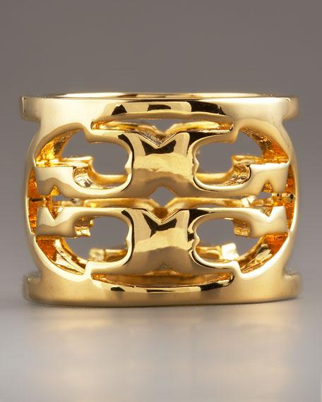 Logo Ring, Gold