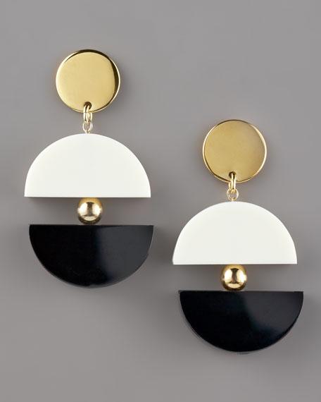 double-exposure earrings