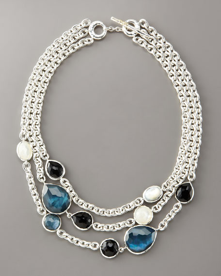 Multi-Strand Dawn Necklace