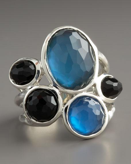 Multi-Stone Ring, Blue