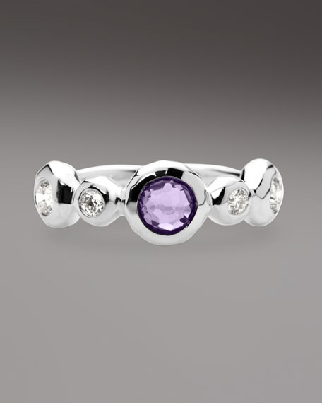 Diamond & Amethyst Ring