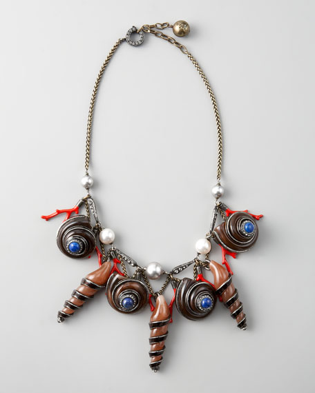 Shell-Charm Necklace