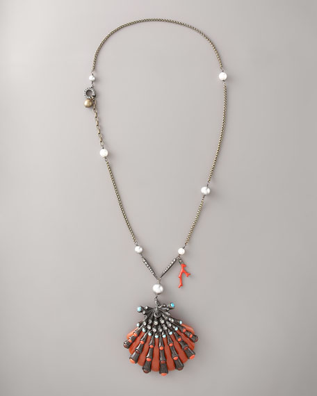 Shell-Pendant Necklace