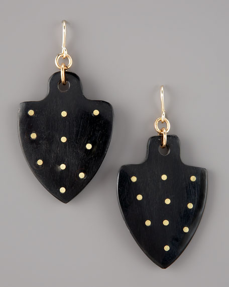 Moyo Studded-Horn Earrings