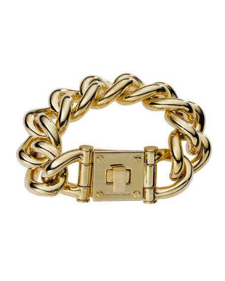 Lock Link Bracelet
