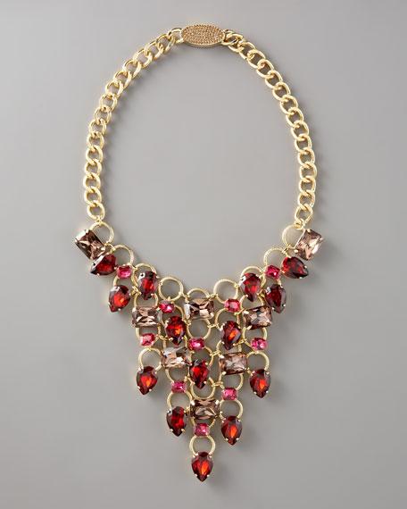 FragmentsRhinestone Bib Necklace