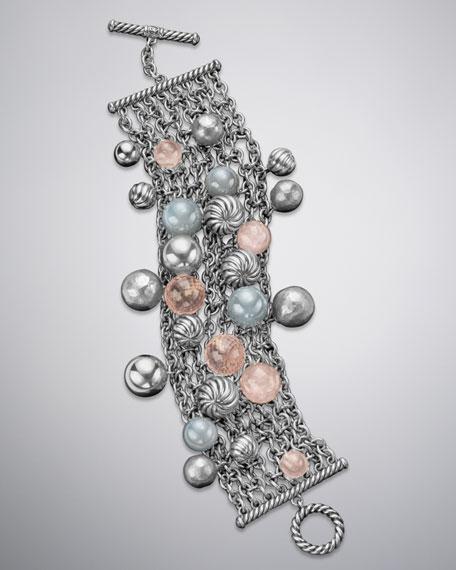 Elements Bracelet, Rose Quartz
