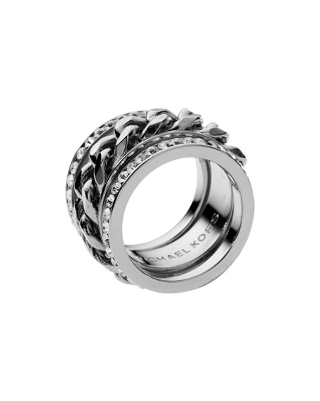 Chain Crystal Ring