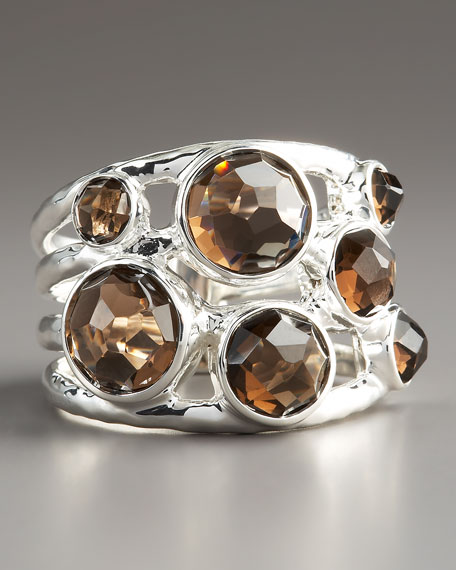 Constellation Ring, Smokey Quartz