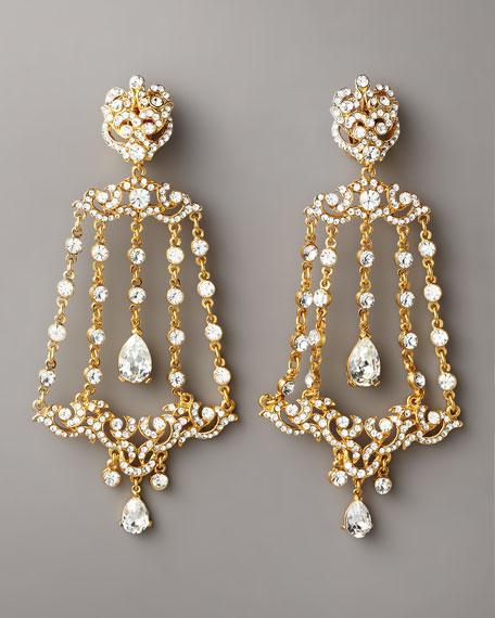 Crystal Imperial Drop Earrings