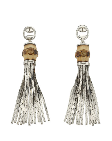 Tassel Bamboo Earrings