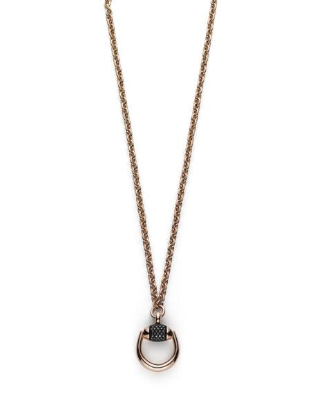 Horsebit Pendant Necklace