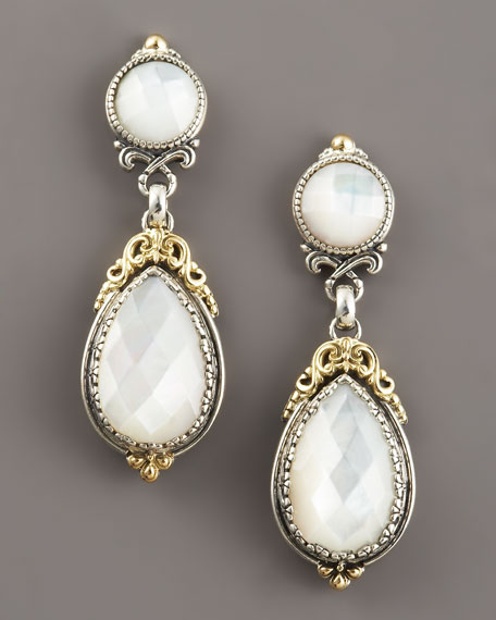 Mother-of-Pearl Dangle Earrings