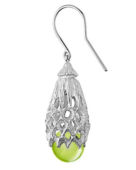 Merveille Wire Earrings, Sterling Silver