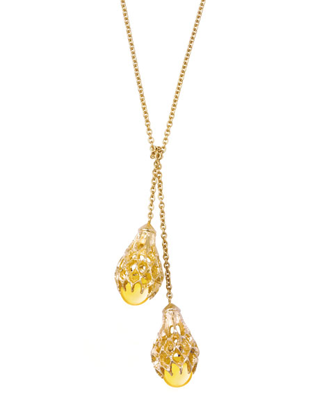 Merveille Necklace, Yellow