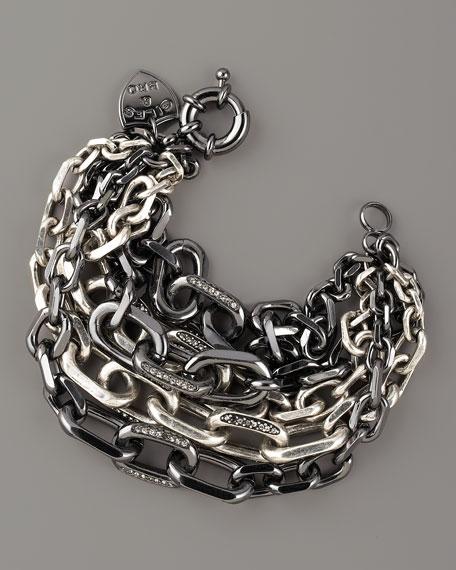 Multi-Strand Chain Bracelet