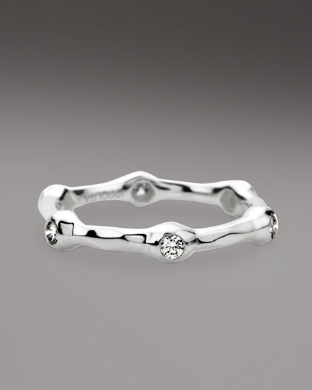 Six-Station Diamond Ring