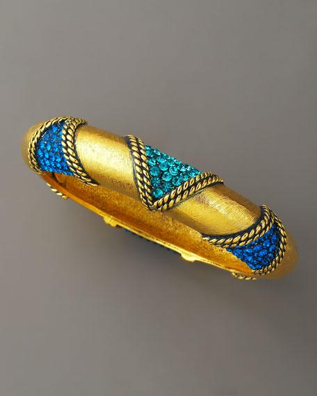 Pave Gold Bangle