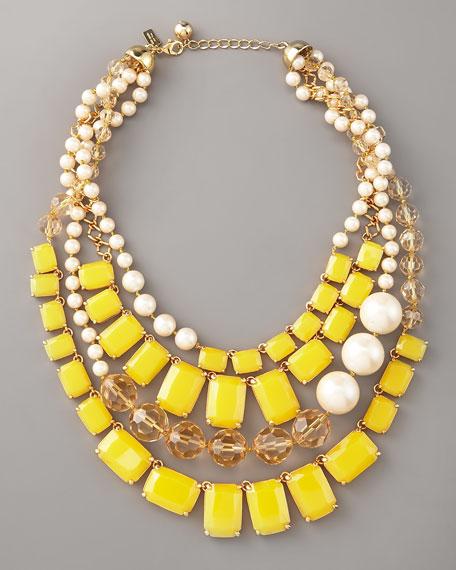 treasure chest statement necklace