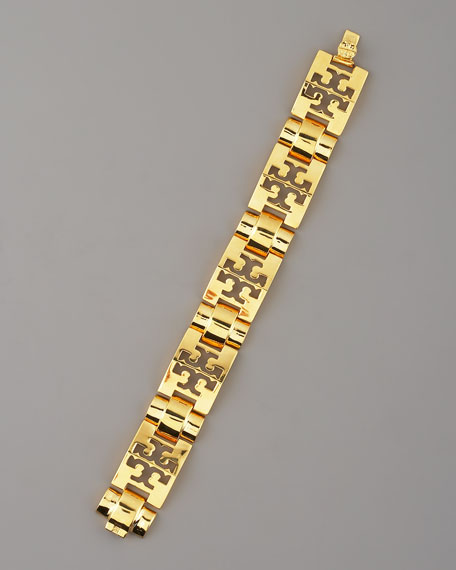 Logo-Pyramid Bracelet