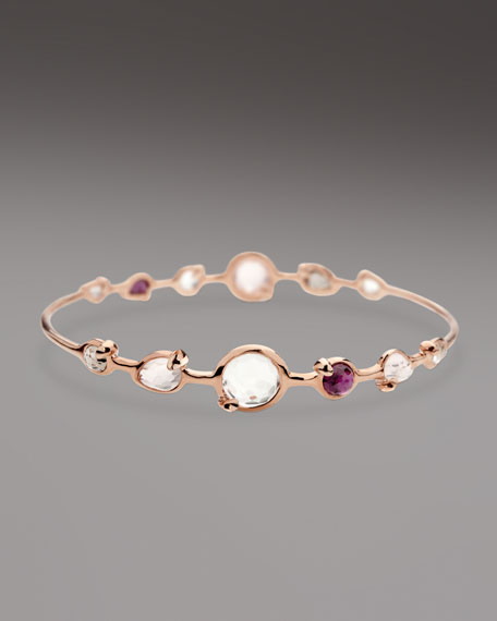Multi-Stone Station Bangle