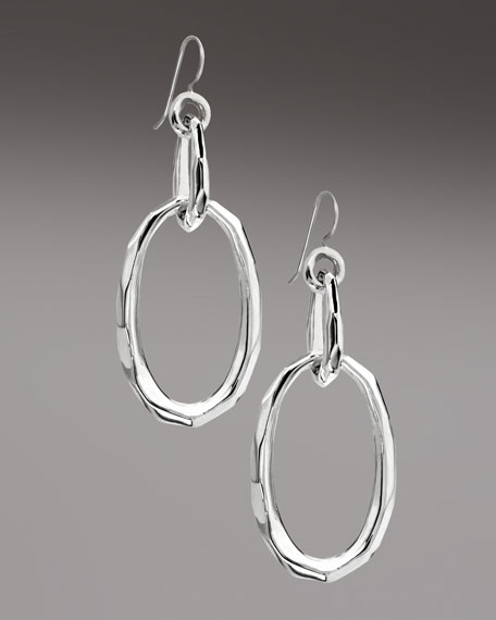 Glamazon Double-Oval Earrings