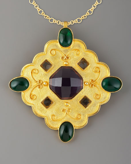 Gold-Plated Bishop Pendant